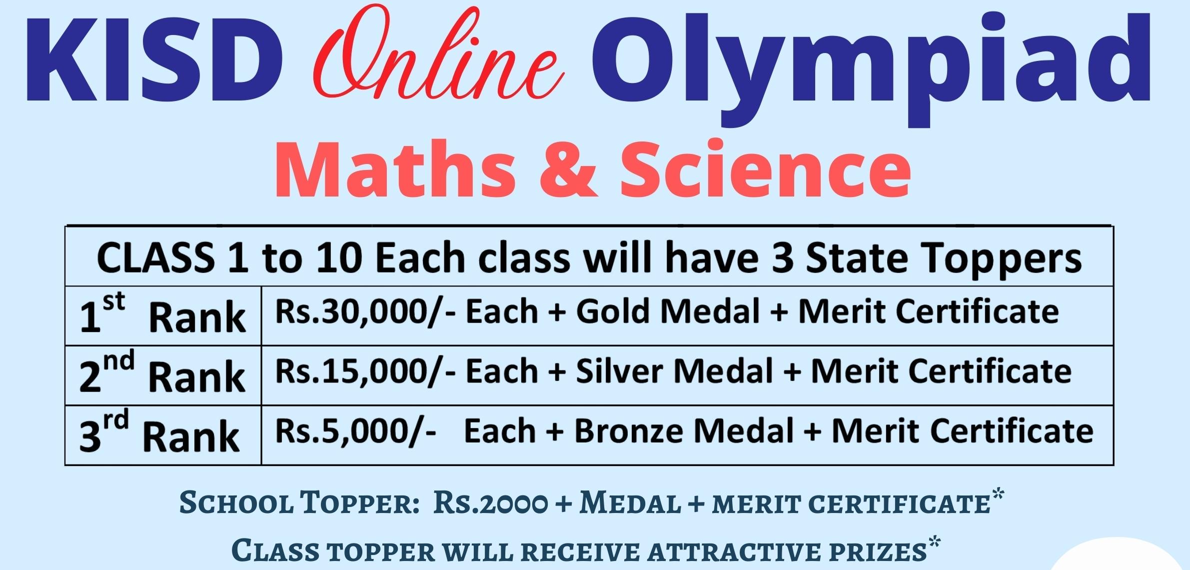 Olympiad prize